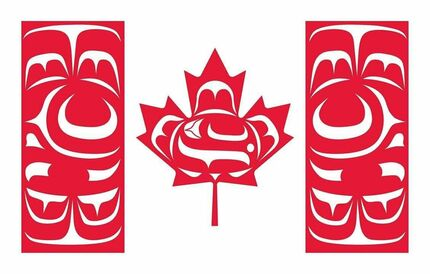 The Canadian Native Flag was designed by Kwakwaka'wakw artist Curtis Wilson.  His design for the flag is meant to represent First Nations in Canada to the public. We hope this flag brings a better understanding of the First Nations of our country and a vision for a unified Canada that still revels in its diversity.