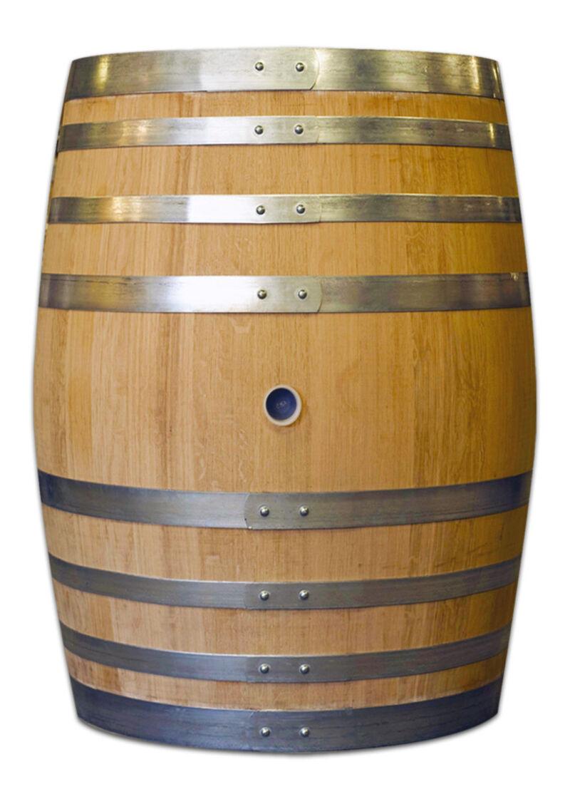 400 l Tonneau / Weinfass aus französischer Eiche der Tonnellerie de Cognac bei shop.oakbarrels.shop