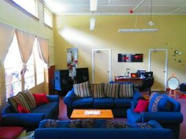 Lounge, The Outpost, Mangarakau, facilities,