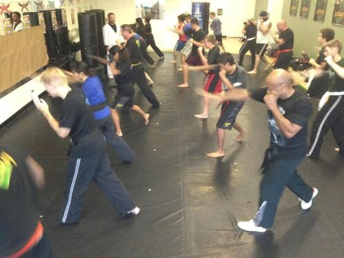 Learn how to defend yourself, and get in great shape!