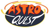 astro quest logo home live