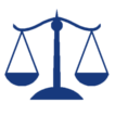 LegalScalesIcon navy