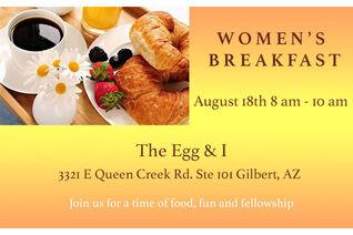 Women's Breakfast Website Event Image