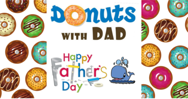 Donuts With Dad Facebook Event Banner