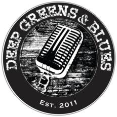 Americana band Deep Greens & Blues logo, Michigan-based vocal harmony band