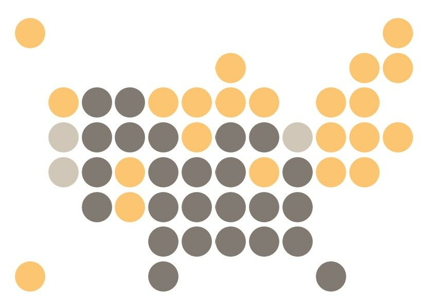 How to create a Grid Map with circles in Excel 9