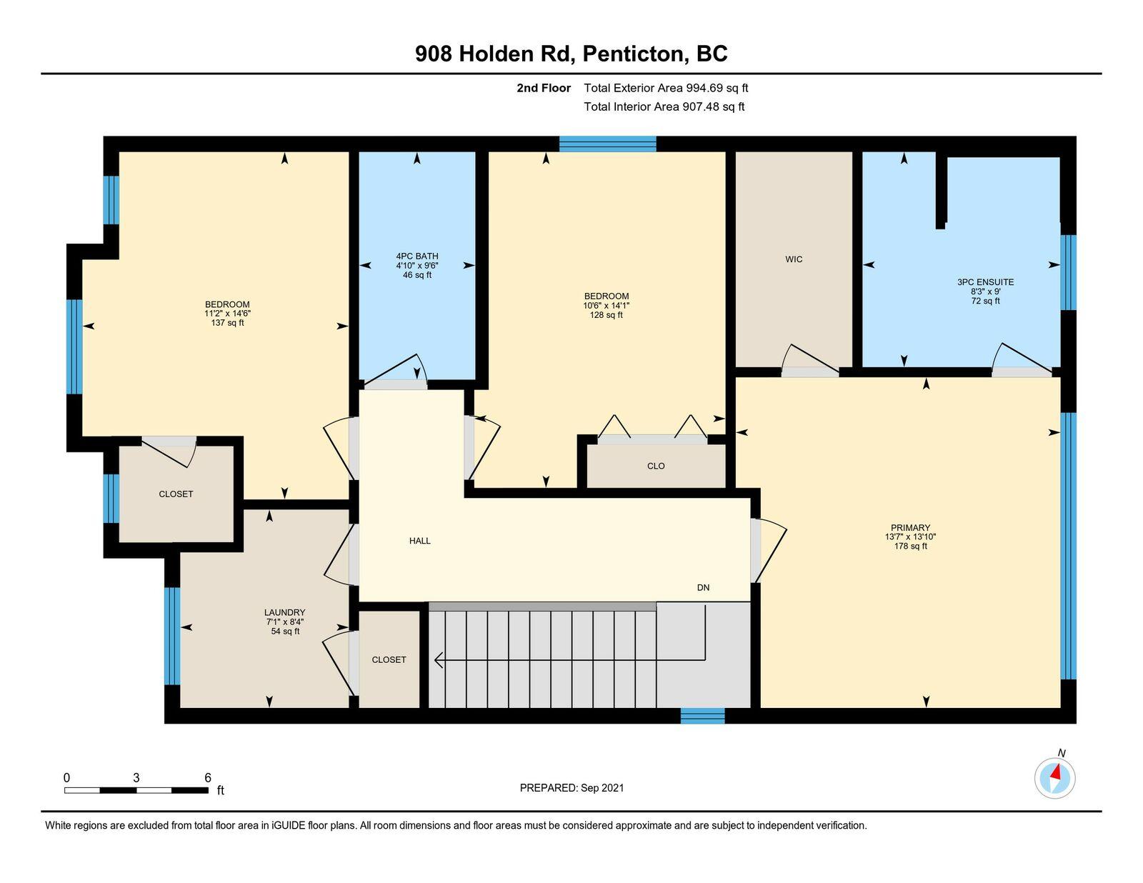 Floor Plan, 2nd