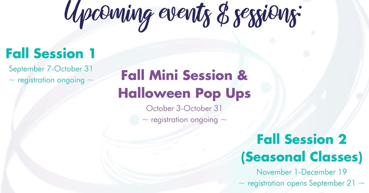 Upcoming events & sessions