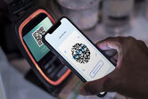 contactless cashless payment through qr code mobile banking