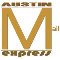 Locally owned and operated business, Austin Mail Express Site Logo