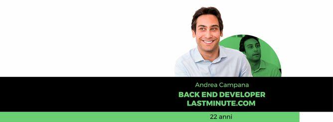 Andrea Campana super coach programmazione start2impact