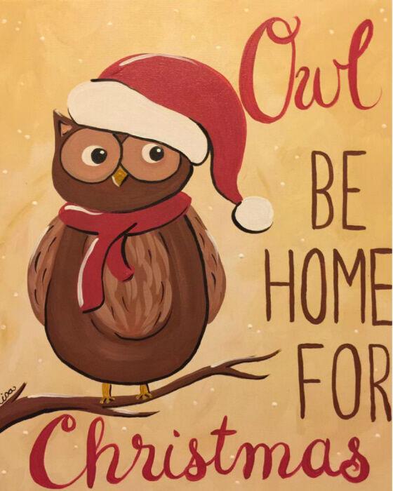 Christmas Owl,