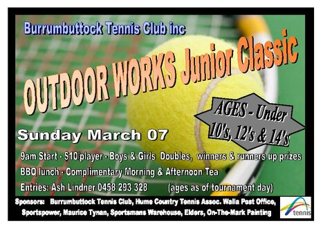 Junior Tournament Flyer 21