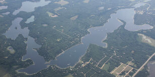 Ossawinnamakee Lake, Crow Wing County , MN