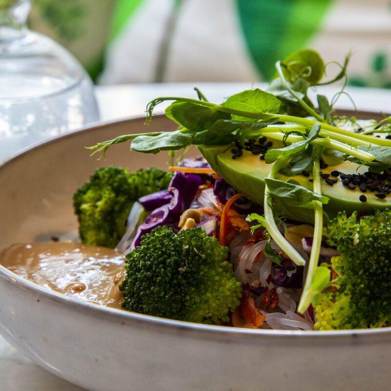 green hippo salaatti kulho
