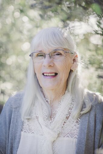 This is a lovely picture of El Alma the author of Becoming Soul - Seven Steps to Heaven.  The webpage discusses her feature on the More Love Podcast in episode 15 in regards to spiritual soul awakening in everyday life.