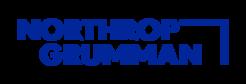 Northrop Grumman logo blue on clear 2020.svg