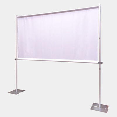 Addictive Music & Sound has various ways to get your images and footage projected including this Portable Projection Screen that works great For Movies, Slideshows and Presentations