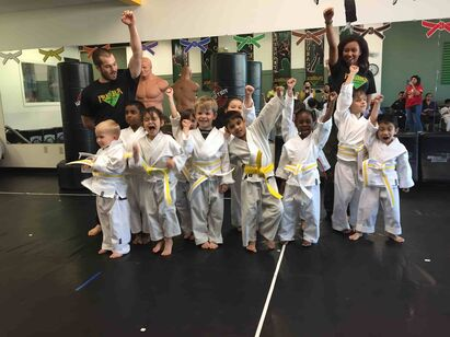 Young Kids Karate in Austin