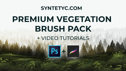 premium brushes for photoshop and procreate