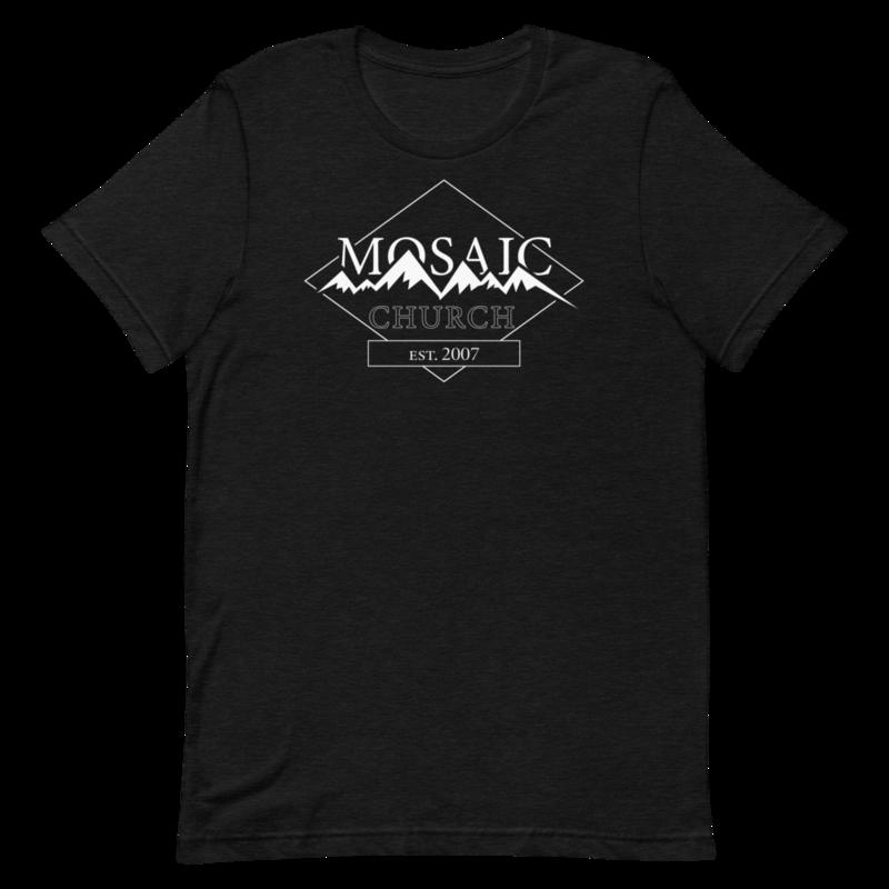 Link to Mosaic Church Mountain Range T-Shirt