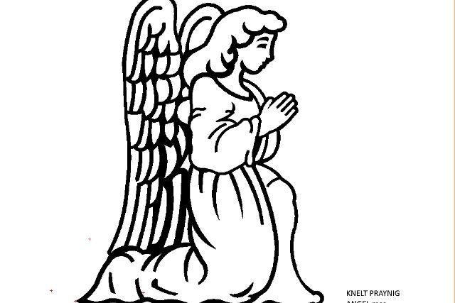 KNELT PRAYING ANGEL.mcc