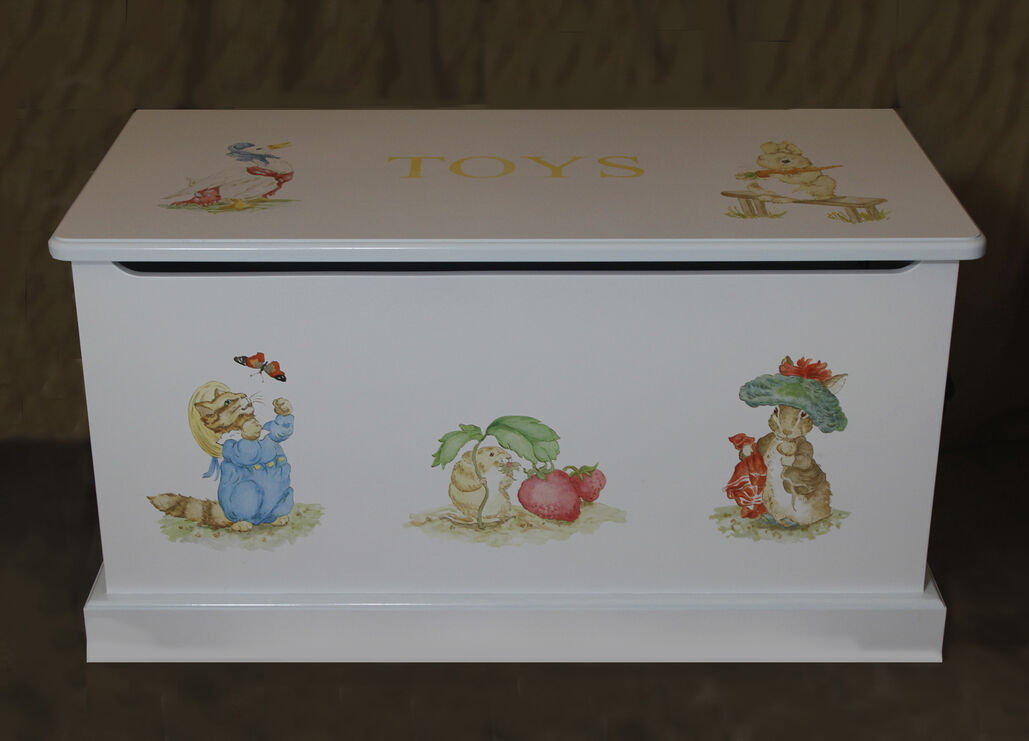 Beatrix Potter toy box