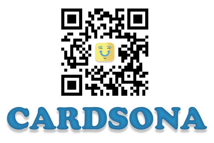 Cardsona downloadable QR