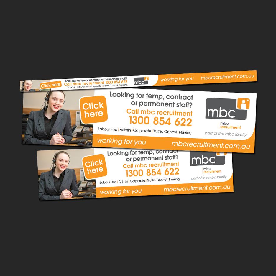 Social Media Design for MBC Recruitment - Web Banner Design, Social Media Design, EDM Design.