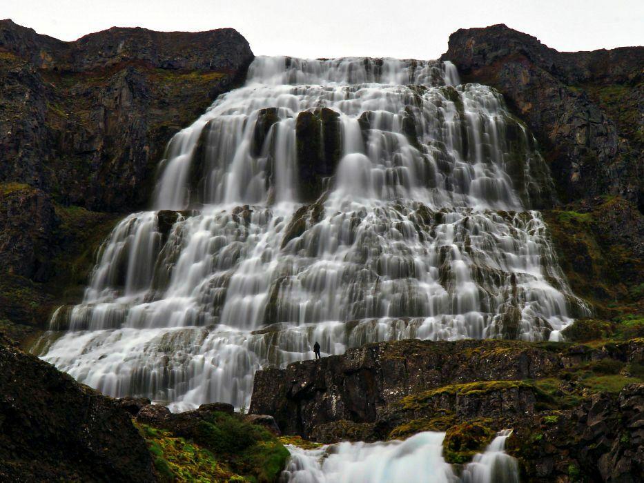 Dynjandi Iceland Waterfall