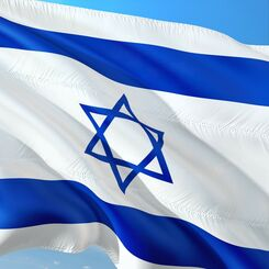 Israel Flag square