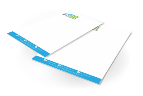 letterhead printing in full colour