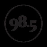 985 logo 2018 Noir