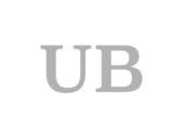 UB, Ulrich Bode, Initialien, Typogramm, Logo