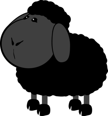 Black Sheep Adventure's mascot