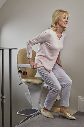 Bespoke Stairlift Synergy Swivel cropped