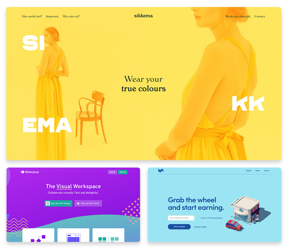 Top 10 Web Design Trends 2019 With 30 Stunning Examples
