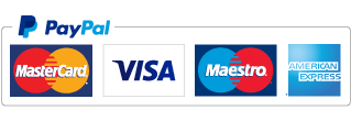 Magestick Records accepts payments with Paypal, Visa, Mastercard, Maestro, American Express