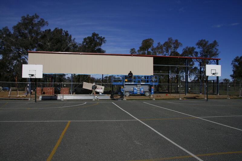 Multipurpose hall construction - 2007