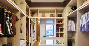 Wardrobe without clutter