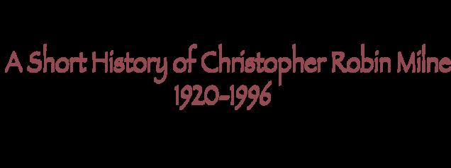 chris milne short history