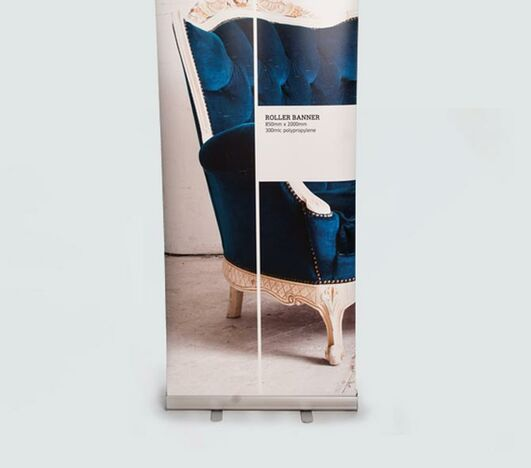 Quality printing for your banners for exhibitions