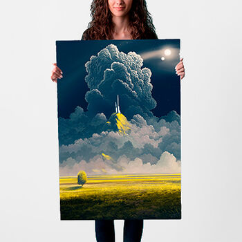 peacefulcastle poster 61x91 24x36