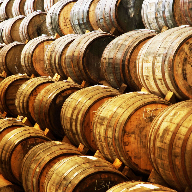 Tequila Barrel ready to refill
