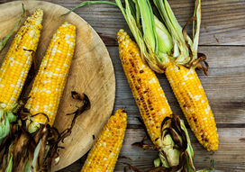 GRILLED SWET CORN