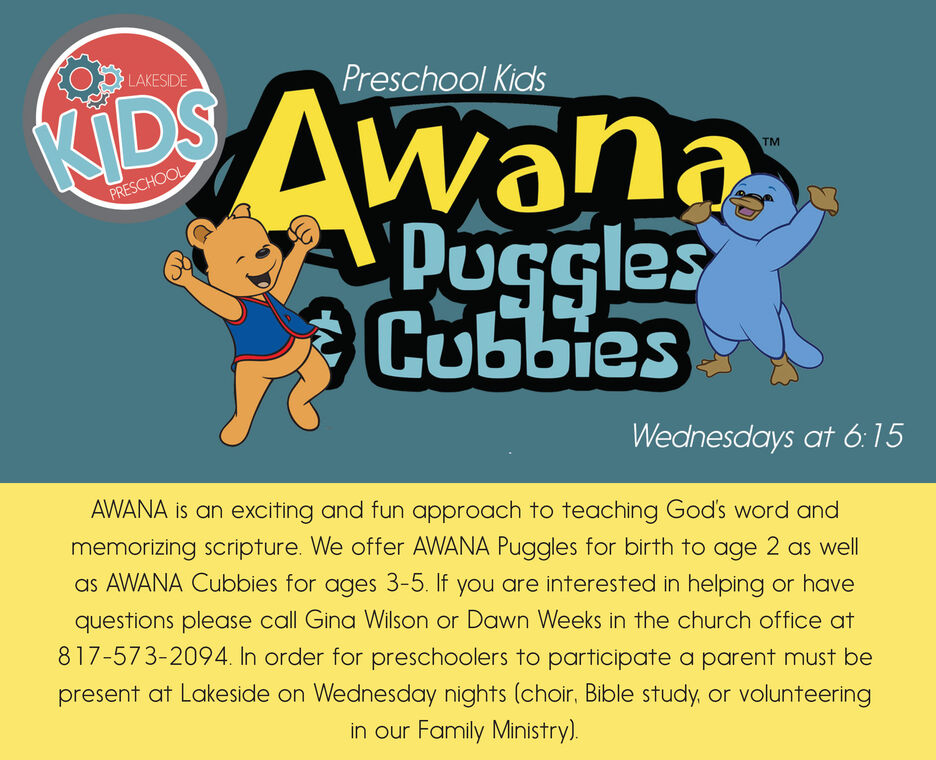 Awana is an exciting and fun approach to teaching God's Word