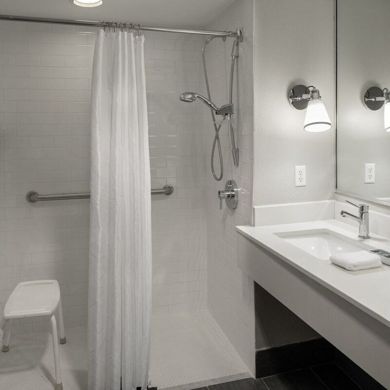 Accessible Guest Bathroom   Roll In Shower