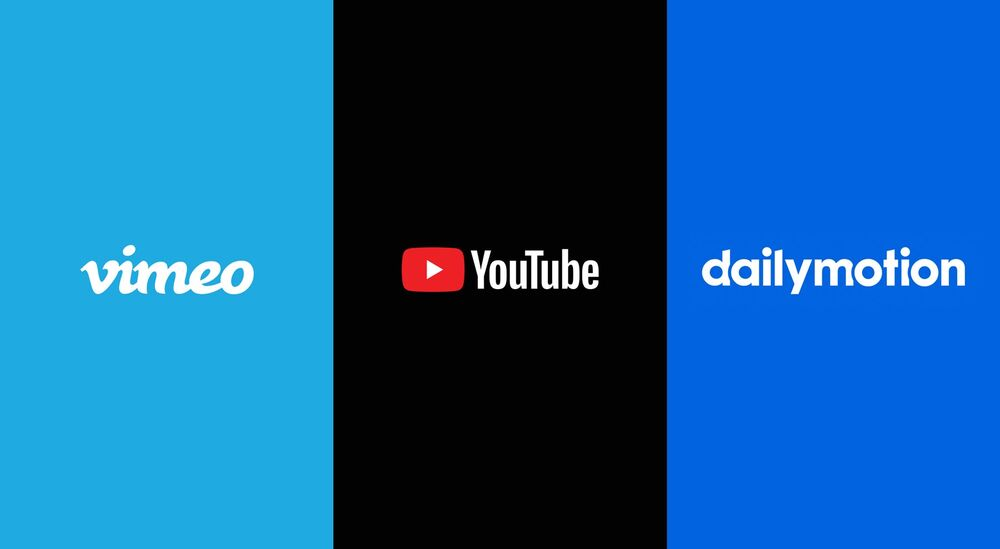 YouTube vs Dailymotion vs Vimeo - How should you video?