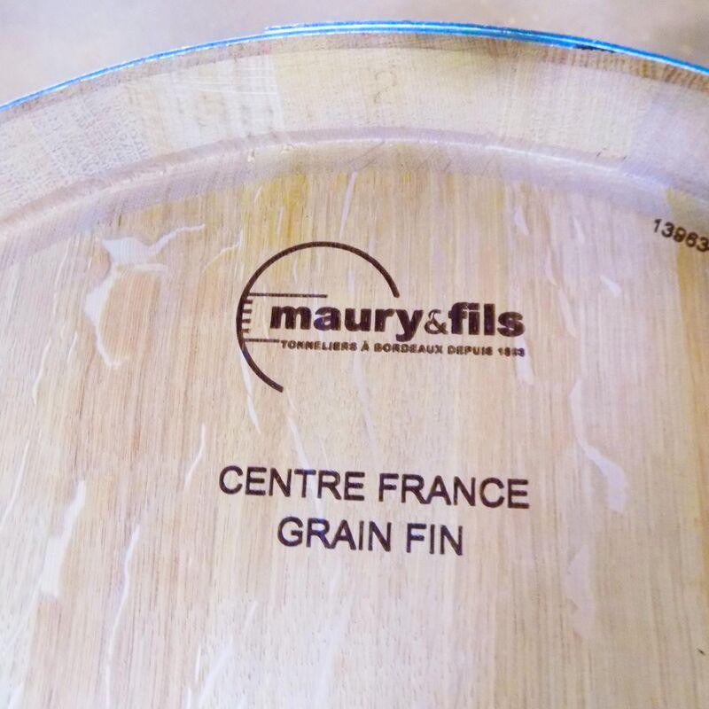 Weinfässer / Barriques / Tonneaux der Tonnellerie Maury & Fils