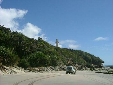 4WD Kahurangi Lighthouse from The Outpost, Mangarakau